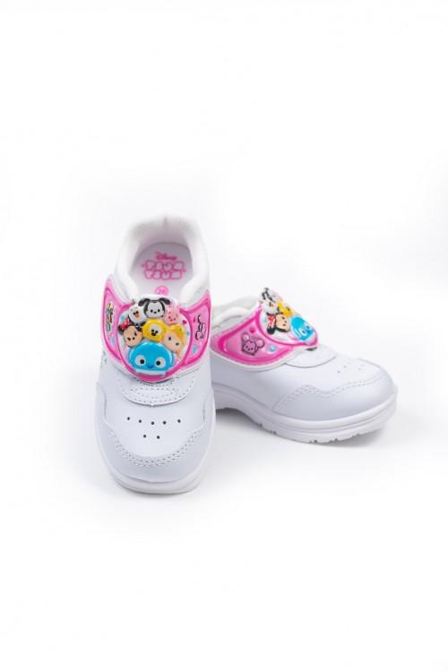 รองเท้าอนุบาลหญิง (สีขาว)