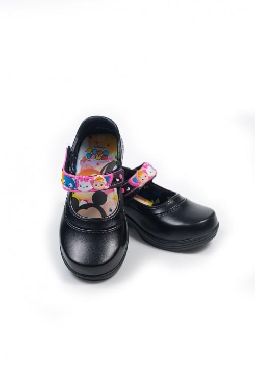 รองเท้าอนุบาลหญิง (สีดำ)