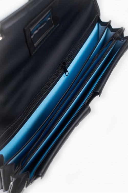 กระเป๋าหนัง 2 ล็อก