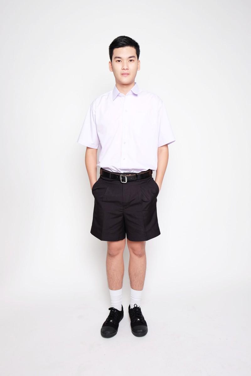 กางเกงสีดำ  ผ้าโทเร (ไซส์ใหญ่)