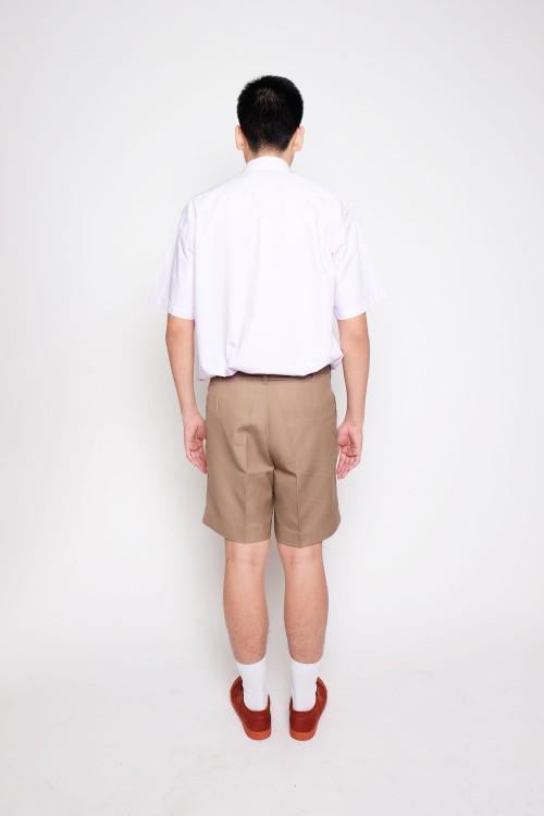 กางเกงสีกากี ผ้าโทเร / กางเกงลูกเสือ (ไซส์เล็ก)