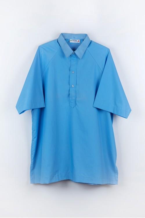 เสื้อพละ โปโล ฟ้า