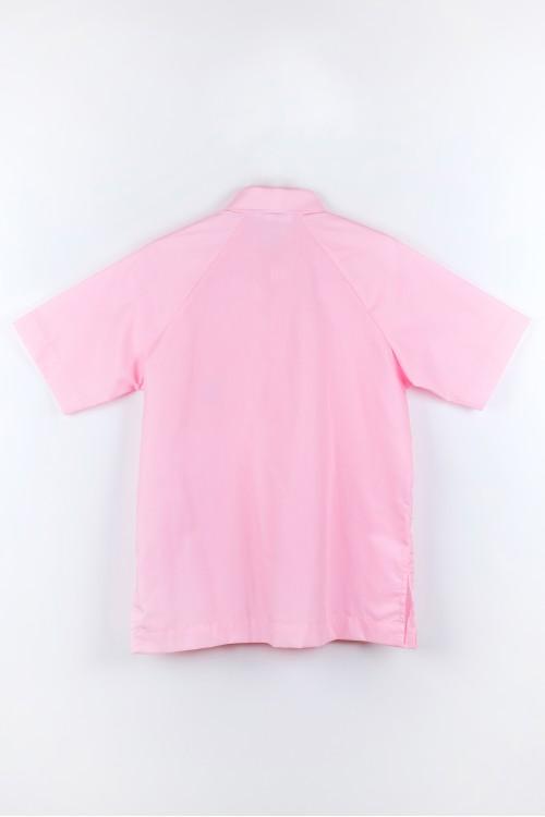 เสื้อพละ โปโล ชมพู