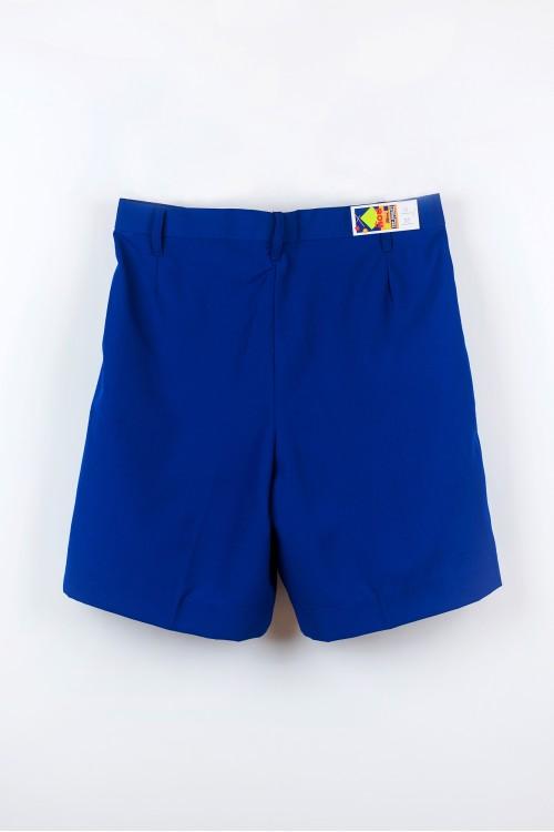 กางเกงสีน้ำเงินสด ผ้าโทเร (ไซส์เล็ก)